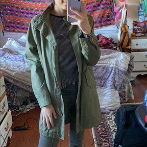 Forever 21 Jackets & Coats - Green utility jacket